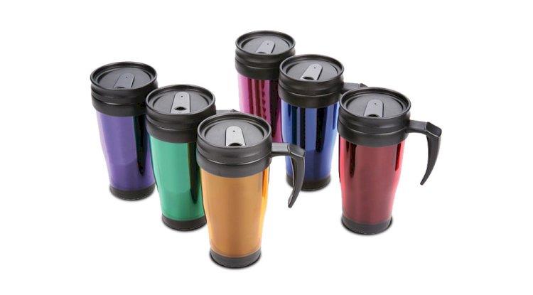 Eakin Ltd Travel Mug - 10 Best Automotive Promotional Gifts