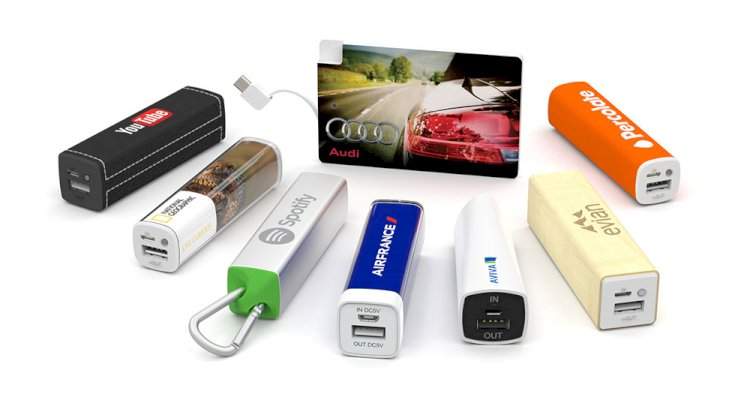USB Power Bank - 10 Best Automotive Promotional Gifts