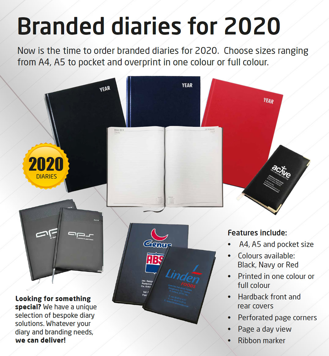 2020 Diaries Offer