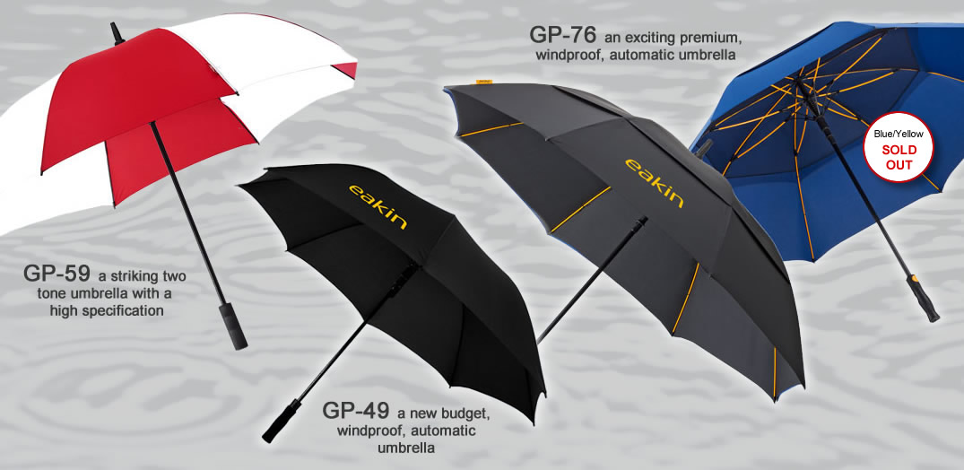 Printed and Personalised Umbrellas - Northern Ireland