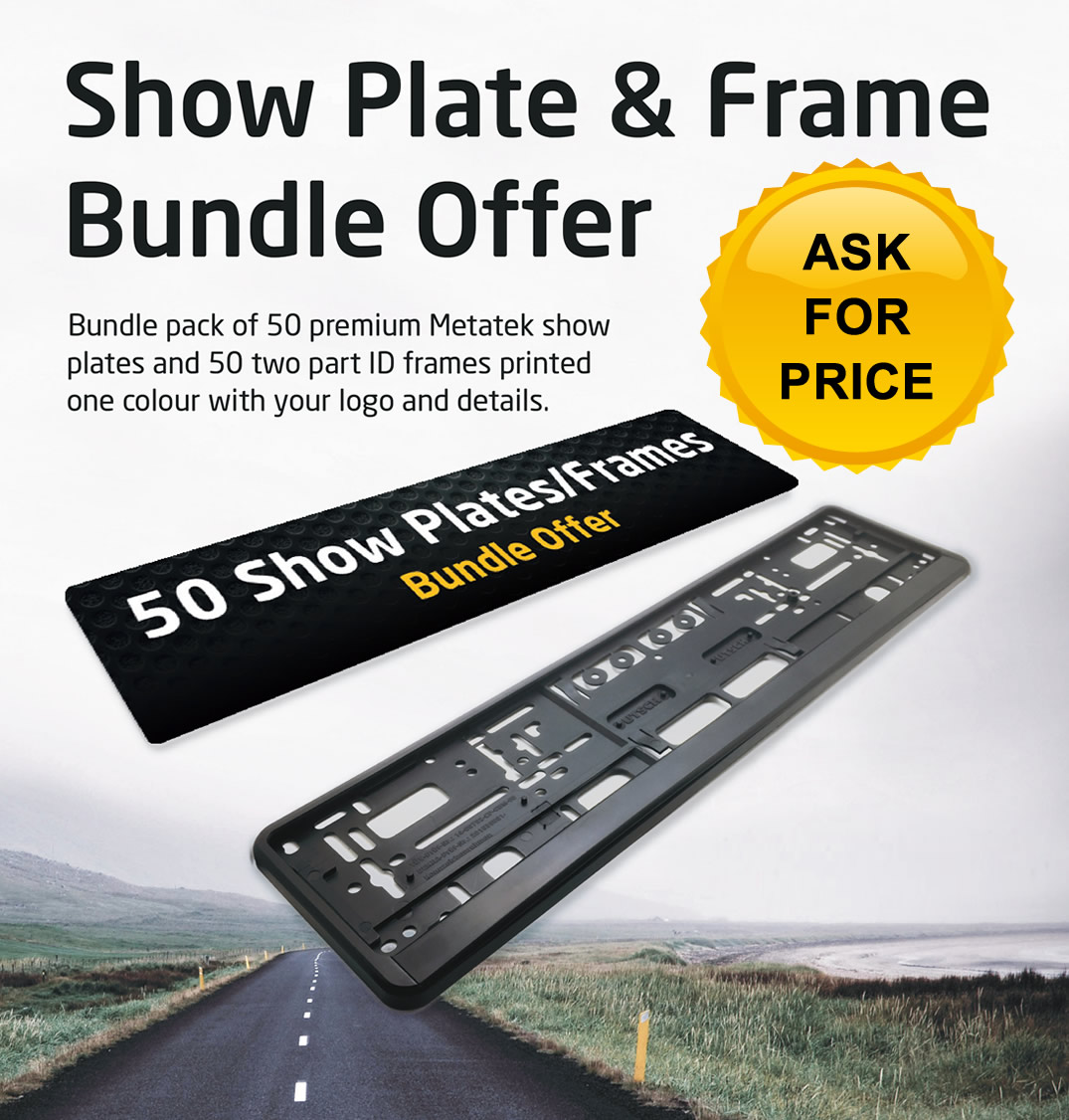 Show Plate Bundle Offer