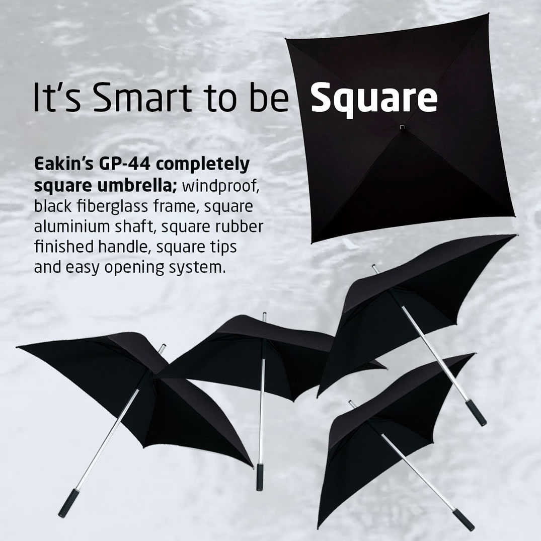 Square Umbrella - Personalised with your logo